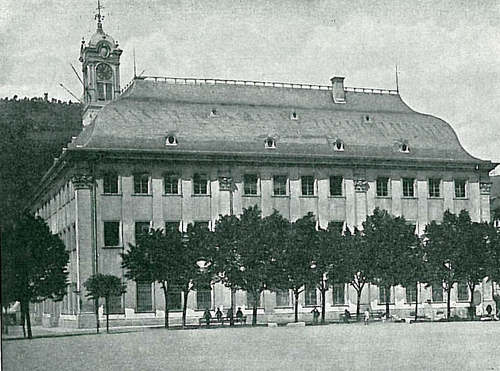 Heidelberg Universiteit Commons ca 1900 Karl Pfaff