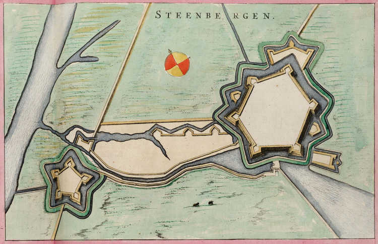 Fort Henricus Steenbergen_(Atlas_van_Loon).jpg