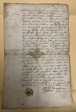 Sauvegarde Maarten Schenck, 1580, Erfgoedcentrum Nederlands Kloosterleven, AR-P017-SA-312