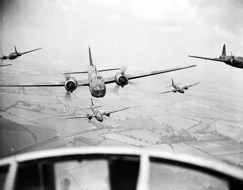 Squadron Vickers Wellington-bommenwerpers